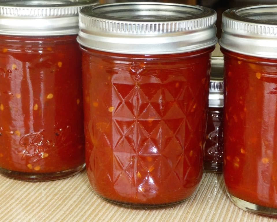 Indian Spiced Tomato Marmalade